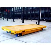 Wholesale 15t low voltage heavy load steel rail material transport bed from china suppliers