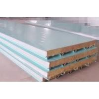 Wholesale Color Coated Roofing Composite Sandwich Panels Polyurethane PU Sandwich Panel 40 Kg/M3 from china suppliers