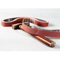 Quality 1 X 30 Sanding Belt Aluminum Oxide Cloth Sanding Belts X Weight Poly Cotton Backing for sale