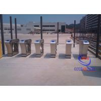 Wholesale Unique Access stainless steel turnstiles , pedestrian turnstile gate Anti retrograde from china suppliers