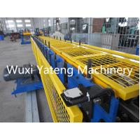 Wholesale Color Steel High Tech Gutter Roll Forming Machine With 1 Inch Single Chain Drive from china suppliers