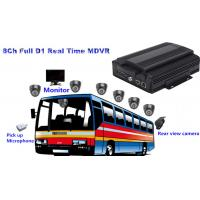 Wholesale 8 Channel Full D1 HDD Bus Mobile DVR3G / 4G MDVR Support GPS Tracking from china suppliers