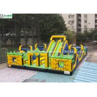 Wholesale Outdoor Giant inflatable Playground With Big Slides For Kids And Adults from china suppliers