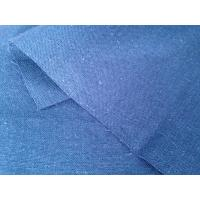Wholesale Plain Blue Organic Cotton Hemp Blend Fabric for Home Textile Short Sleeved Sweater 11Ne * 11Ne from china suppliers