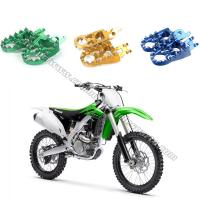 Wholesale Dirt Bike Passenger Foot Pegs Removable / Replaceable Teeth Motocross Footpegs from china suppliers