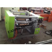 Eco-friendly Aluminium Foil Rewinder Machine , High Speed MJ-AF450