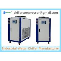 Buy cheap 208V 60Hz Portable Small Air Cooled 5hp Glycol Chiller for Beer Processing from wholesalers