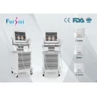 Wholesale hifu ultrasound machine hifu face lift and skin rejuvenation with 3 hifu cartridges from china suppliers