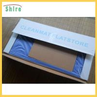 Wholesale Dust Free Workshop Use Clean Room Sticky Mat With Adhesived PE Film Backing from china suppliers
