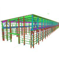 Wholesale Precise Structural Steel Engineering , Pre Engineered Steel Structure Drawings Detailing from china suppliers
