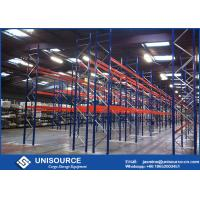 Quality 75mm High Density Pallet Storage Racks Adjustable Double Deep Racking System for sale