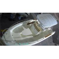 Wholesale White 20.5 Feet  Custom Built Yachts , Racing Sailing Boats With Large Bed Cushions from china suppliers