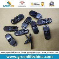 Wholesale PC Material Solid Black Big Alliagator Clips 37x13MM from china suppliers