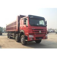 Wholesale Hydraulic 8*4 Backward Tilting Mining Dump Truck For Material Transportation from china suppliers