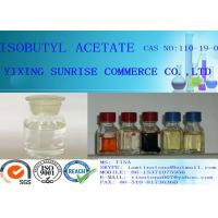 Wholesale Isobutyl Acetate Colorless Flammable Liquid CAS 110-19-0  99.00% min from china suppliers