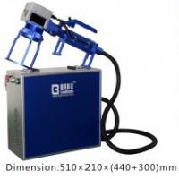 Wholesale Handle Fiber Laser Engraving Machine Small  /  Convenient Laser Marking Machine from china suppliers