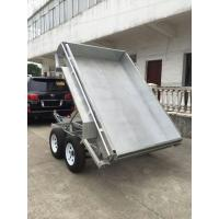Wholesale Galvanised Hydraulic Tipper Trailer / 8 X 5 Tandem Trailer  2 Axle from china suppliers