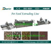 Wholesale Automatic Pet Food Extruder Machine / jam Center Pet Feed Pellet Extruder Equipment from china suppliers