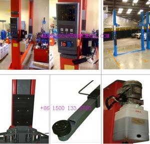 Quality Launch 2 post floor plate lift TLT235SBA for sale