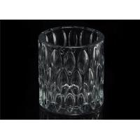 Wholesale Home decoration Wedding Decorative Glass Candle Jars Glass Candle Containers from china suppliers