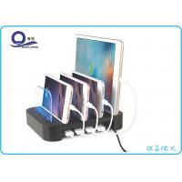 Wholesale Detachable 30W 4 Port USB Desktop Charging Station Organizer , Cell Phone Charging Station from china suppliers