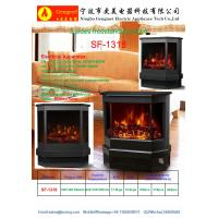 Wholesale Electric Fireplace Heater 3 Sided Freestanding electric Stove SF-1318 Log flame effect comfortable warm room heater from china suppliers