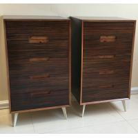 Wholesale Five-drawer storage cabinet, wood structure and steel supporting leg from china suppliers