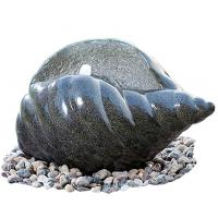 Wholesale Shell Shape Cast Stone Fountains For Home Decoration Weather Resistant from china suppliers