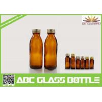Wholesale 130ml Competitive Price Amber Syrup Glass Bottle from china suppliers