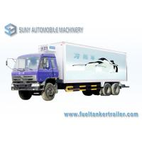 Wholesale Cummins Engine 210 HP 6x4 Refrigerated Box Truck Load 20 T - 25 T from china suppliers