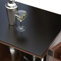 Buy cheap China glass manufacturer supply high quality dark grey tempered table top glass from wholesalers