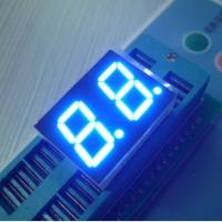 Wholesale Signage Bright Dual 7 Segment LED Display Blue For Medical Equipment from china suppliers