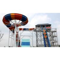 Wholesale Custom Fiberglass Water Slides with Galvanized carbon steel from china suppliers