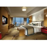 Wholesale King Size Commercial Hotel Furniture Luxury Bedroom Set for Single / Double Room from china suppliers