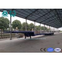 Wholesale 3 Axles Hydraulic Extendable Low Bed Semi Trailer Sinotruk Drop Deck Trailer from china suppliers