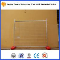 Wholesale galvanized 2.1x2.4m temporary fence temporary fencing portable fence AS4687-2007 from china suppliers