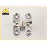 Wholesale Zamak 180 Degree Cabinet Concealed Hinge For Interior / Cupboard Door from china suppliers