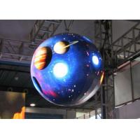 Wholesale SMD Sphere LED Display Screen , 360 Degree LED Display Aluminum from china suppliers
