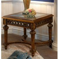 Wholesale coffee table antique wood+glass top coffee table from china suppliers