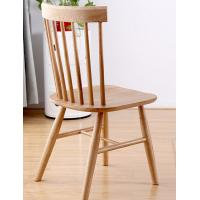 Wholesale Funky Wooden High Back Dining Chairs , Recliner Contemporary Light Oak Kitchen Chairs from china suppliers