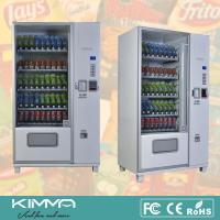 Wholesale Big Capacity Automatic Retailer Snack And Drink Vending Machine With Coin Changer from china suppliers