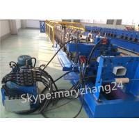 Wholesale 7.5kw Main Motor Downspout Roll Forming Machine Controlled by PLC with Hydraulic System from china suppliers