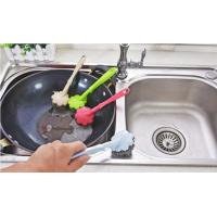 Wholesale Kitchen Cleaning Stainless Steel Scrubber With Handle Demountable Design from china suppliers