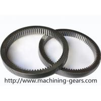 Wholesale Machinery Parts Steel Internal Gear , Gearbox Parts Large Ring Gear from china suppliers