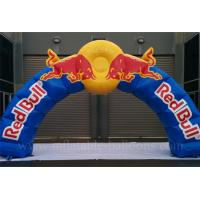 Wholesale Red Bull Inflatable Airblown Arch Customized 8m With Logo Printing from china suppliers