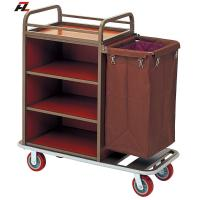 Wholesale Hotel Metal Housemaid Cart-Housemaid Trolley from china suppliers