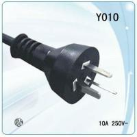 Wholesale Argentina 3 core copper wire power cable with  3 phase plugs and sockets from china suppliers