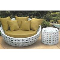 Wholesale Outdoor Furniture round daybed garden daybed furniture from china suppliers