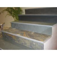 Wholesale Rusty Slate Steps Multicolor Slate Stairs with Natural Cleft Surface and Bullnose from china suppliers