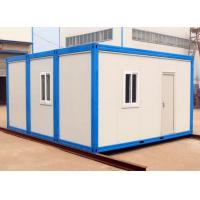 Wholesale anti erthquake refugee housing unit flat pack movable container refugee camps from china suppliers